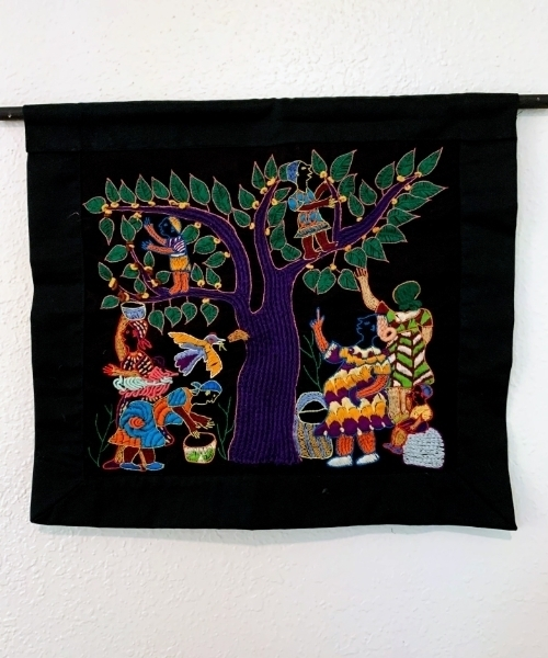 Embroidered Art – Mother Tree SOLD